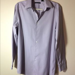 Theory lilac colored dress shirt, great condition